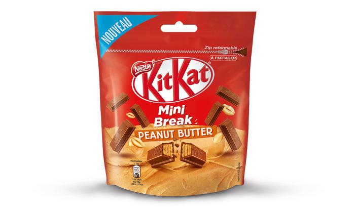 Nestlé - KITKAT Mini Break - Peanut Butter