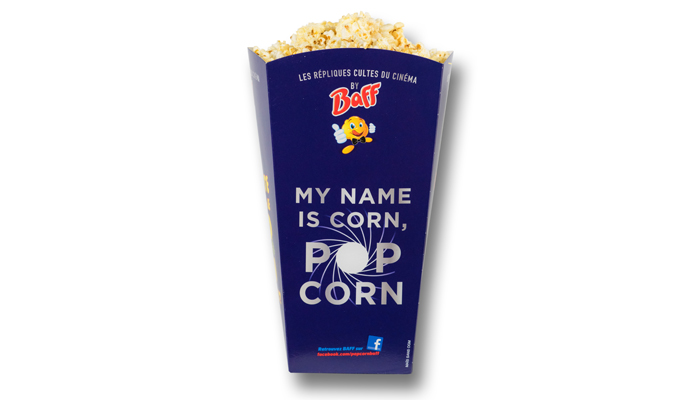 Pop Corn - Gobelet Taille Grand