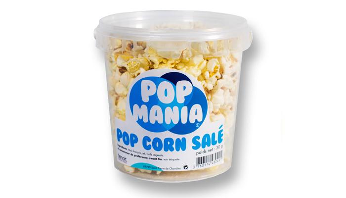 Pop corn salé - Pot