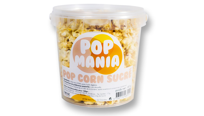 Pop corn sucré - Pot
