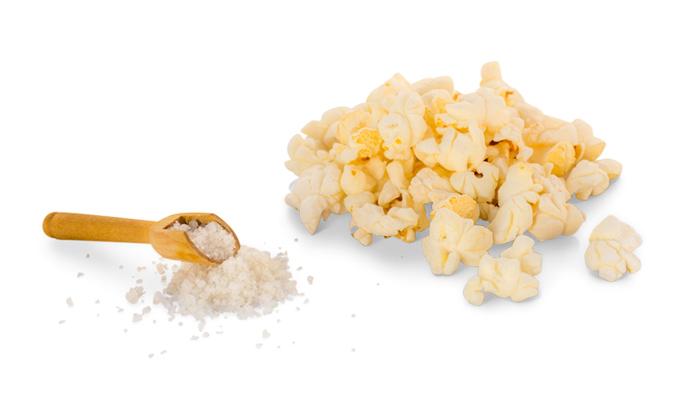 Recette Pop corn salé